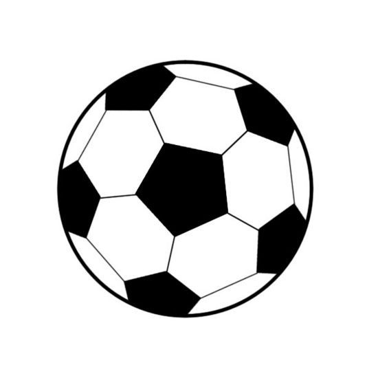 How To Draw A Soccer Ball.