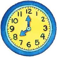 8 O Clock Clipart.