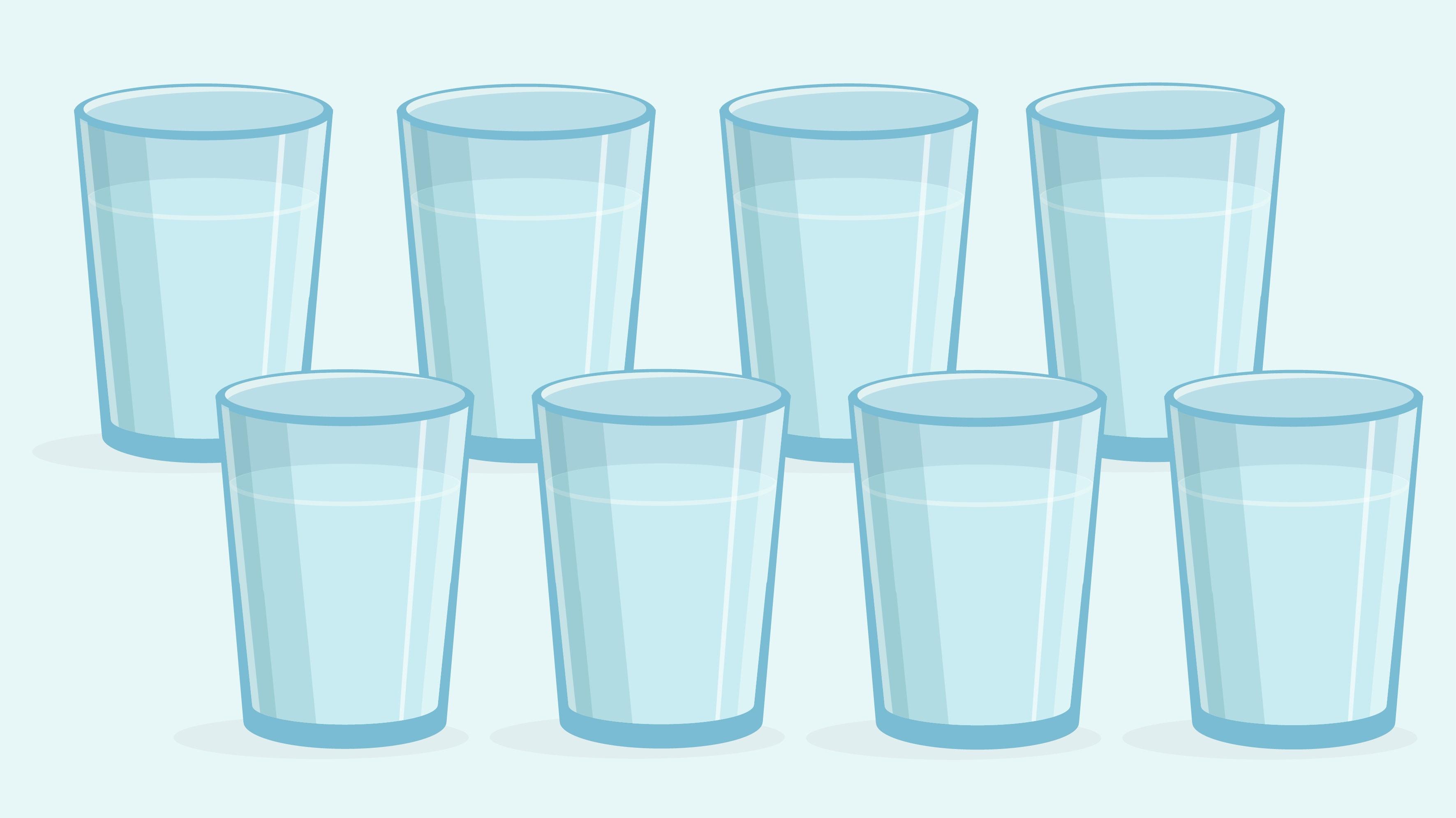The 8 Glass Myth.
