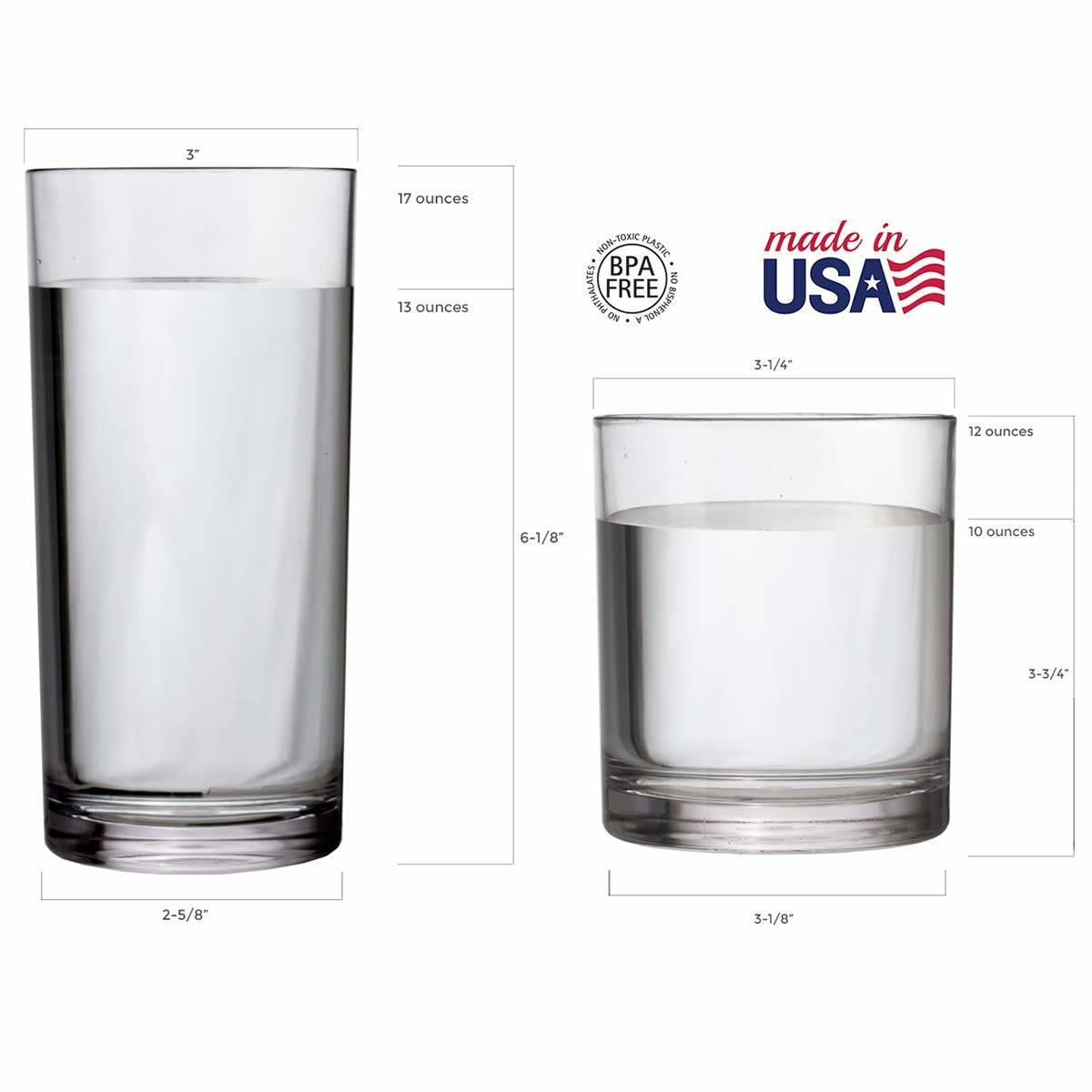 Winning 8 Ounce Glass Gorgeous Means Glasses Water Litres.