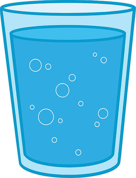 Glass Of Water Clipart.