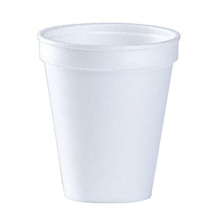 Buy Pack of 150 : 8 Oz White Disposable Coffee Foam Cups Hot.