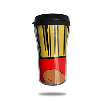 Amazon.com: PengMin Coffee Mug,French Fries Clipart Thermal.