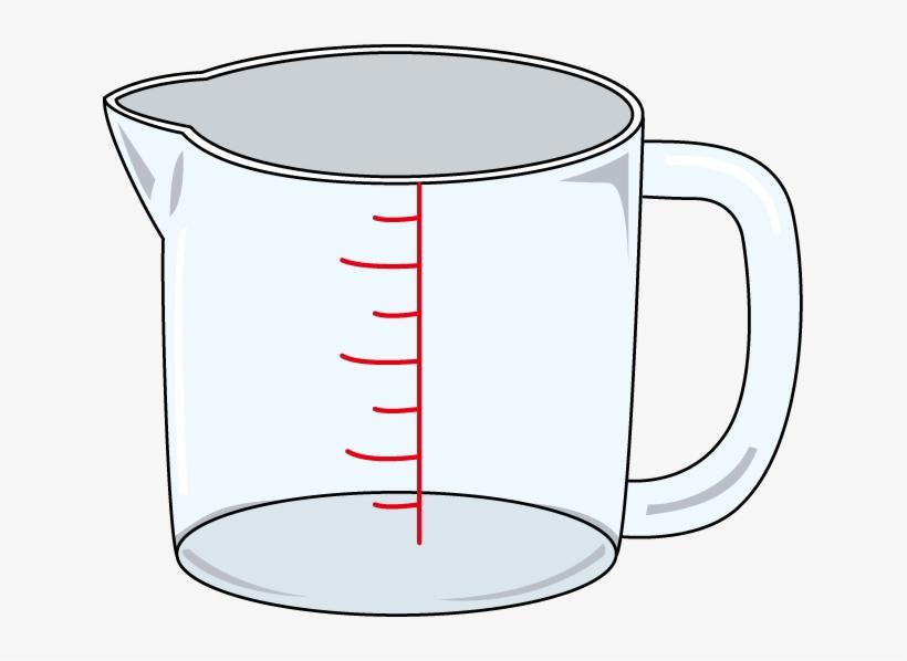 Measuring Cup Clip Art.