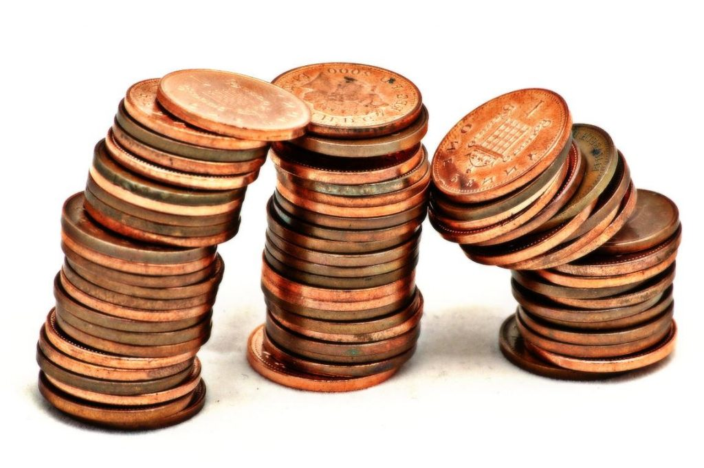 8 pennies clipart Transparent pictures on F.
