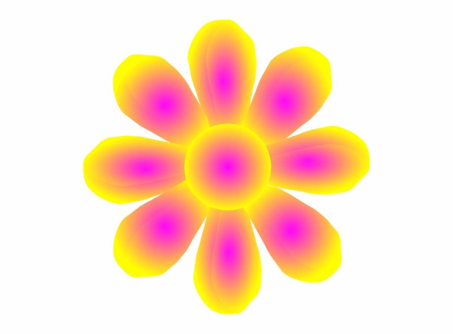 Petal Clipart Small Flower.