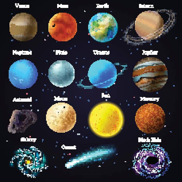 Venus Planet Clip Art, Vector Images & Illustrations.