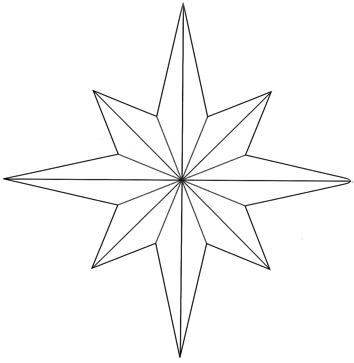 8 point star cluster clipart clipart images gallery for free.