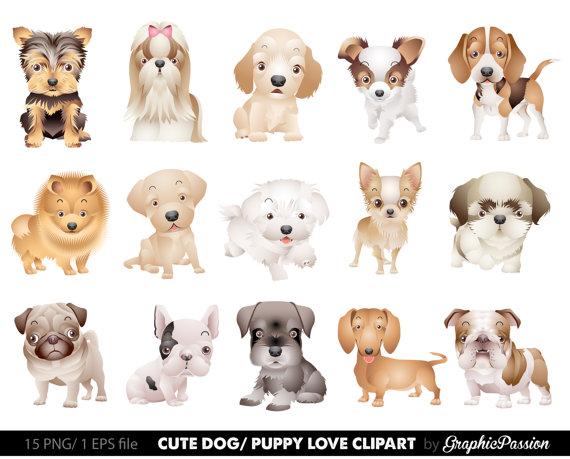 Dog Clipart Puppy Clipart cute dogs clip art puppy clipart.