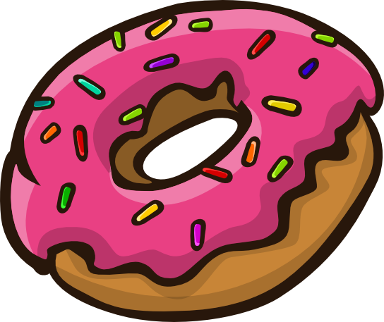 The best free Donut clipart images. Download from 118 free.