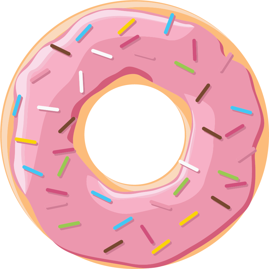 Letter clipart donut, Letter donut Transparent FREE for.