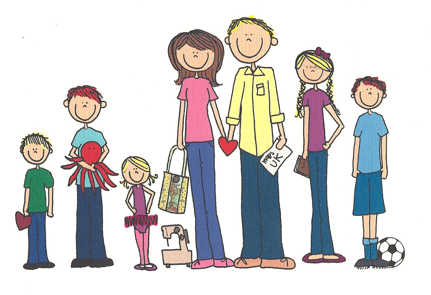Free Family Pictures Cartoon, Download Free Clip Art, Free.