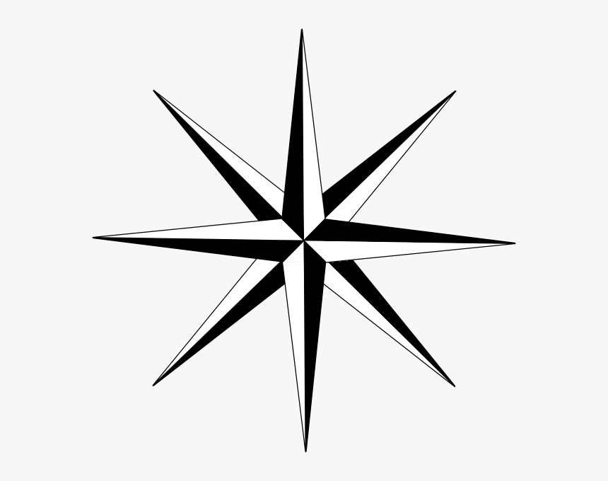 Transparent 6 Point Star Png.