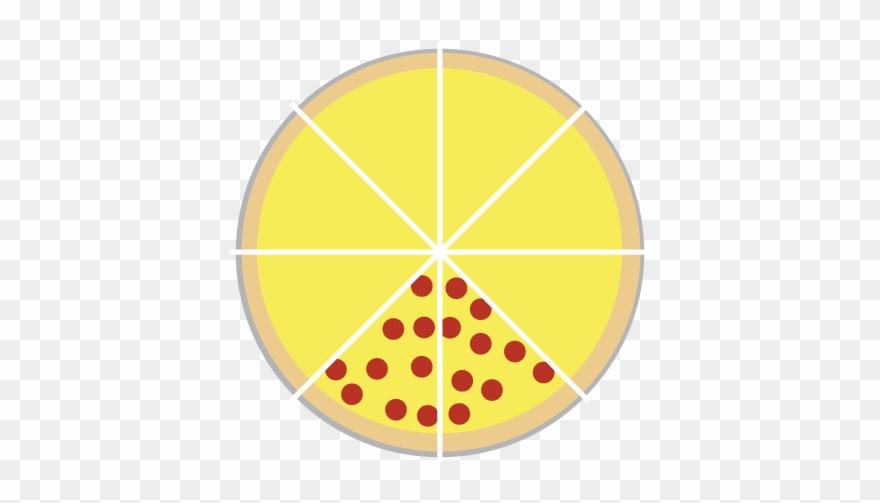 Pizza Split Into 8 Slices Clipart (#3102538).