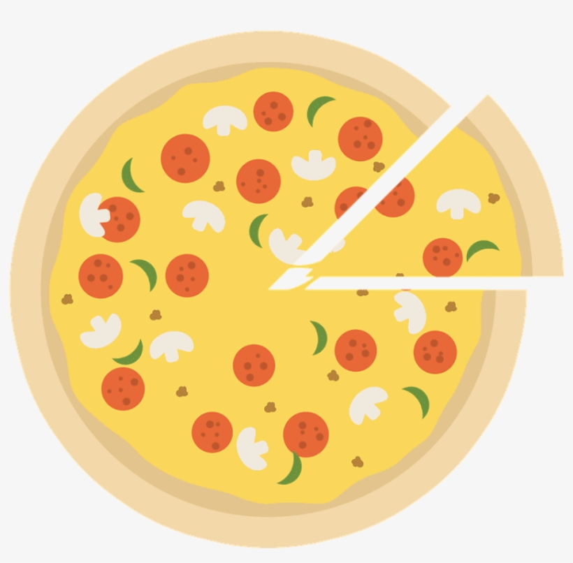 Pizza, Pizza Icon, Pizza Slice, Slice Of Pizza, Emblem.
