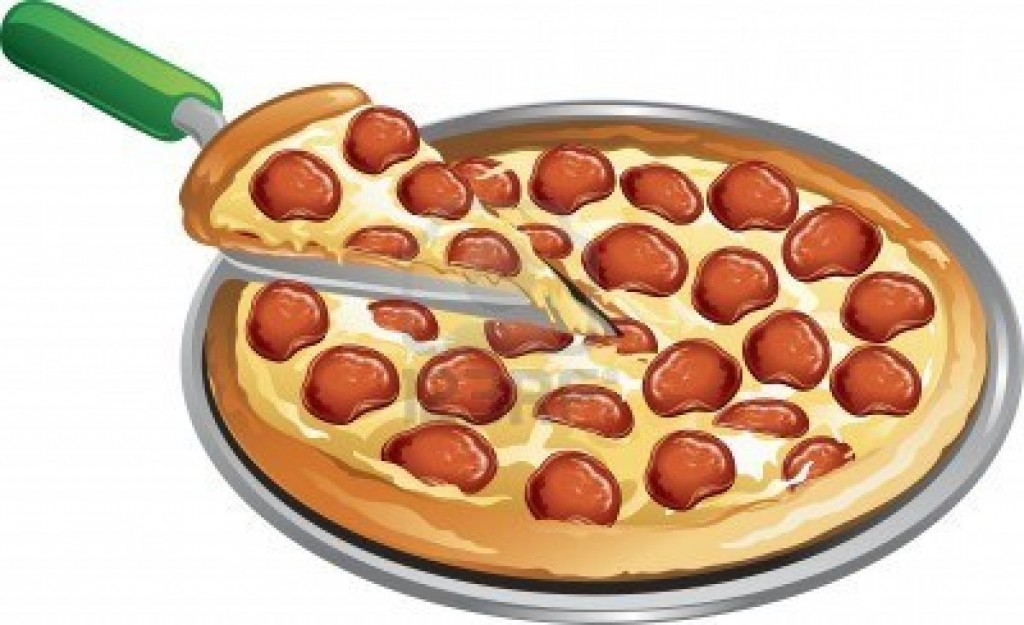 9471 Pizza free clipart.