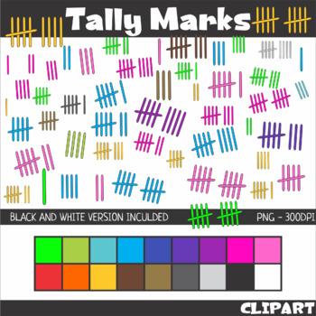 Tally Marks Clip Art.