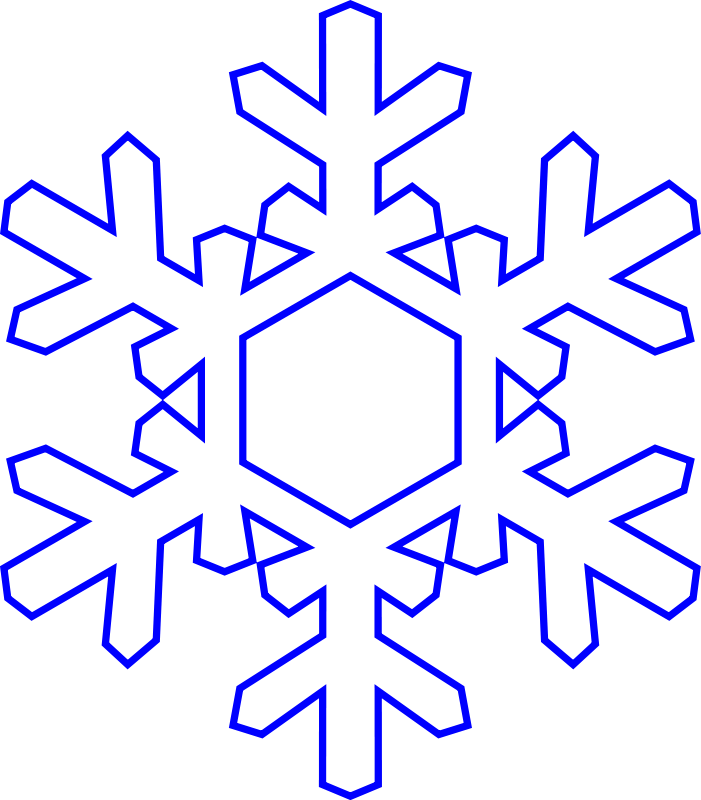 free snowflake clipart.