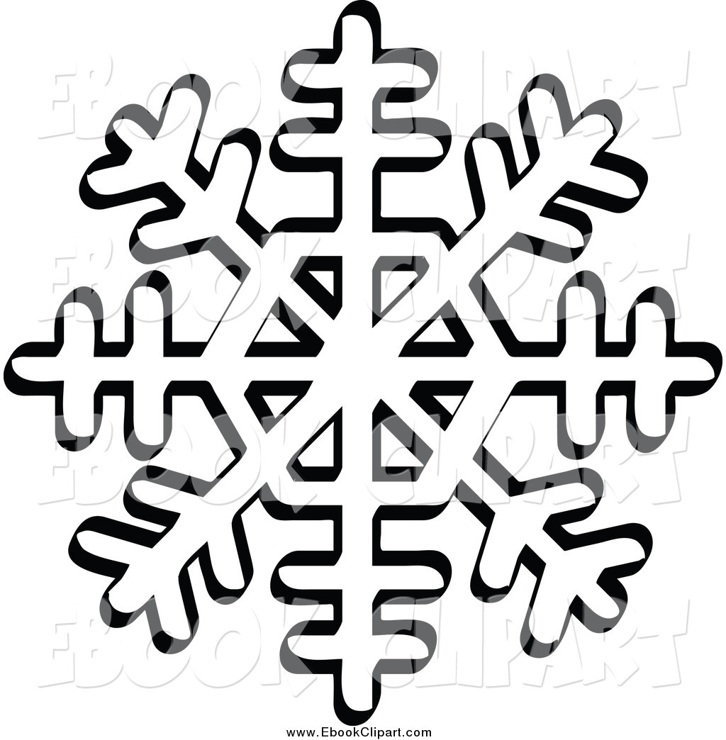 8 tip white snowflake clipart clipart images gallery for.