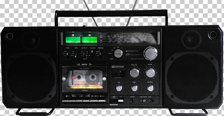 Boombox Stereophonic Sound Compact Cassette Cassette Deck.