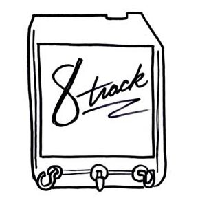 8 Track Clipart.