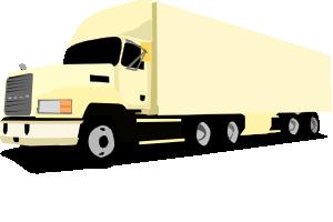 18 Wheeler Truck Clip Art at Clker.com.