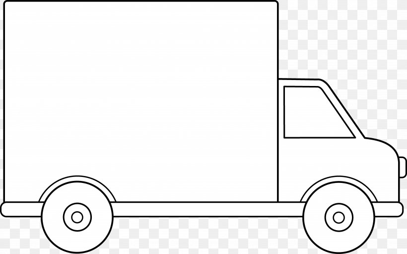Pickup Truck Car Van Clip Art, PNG, 6721x4192px, Pickup.