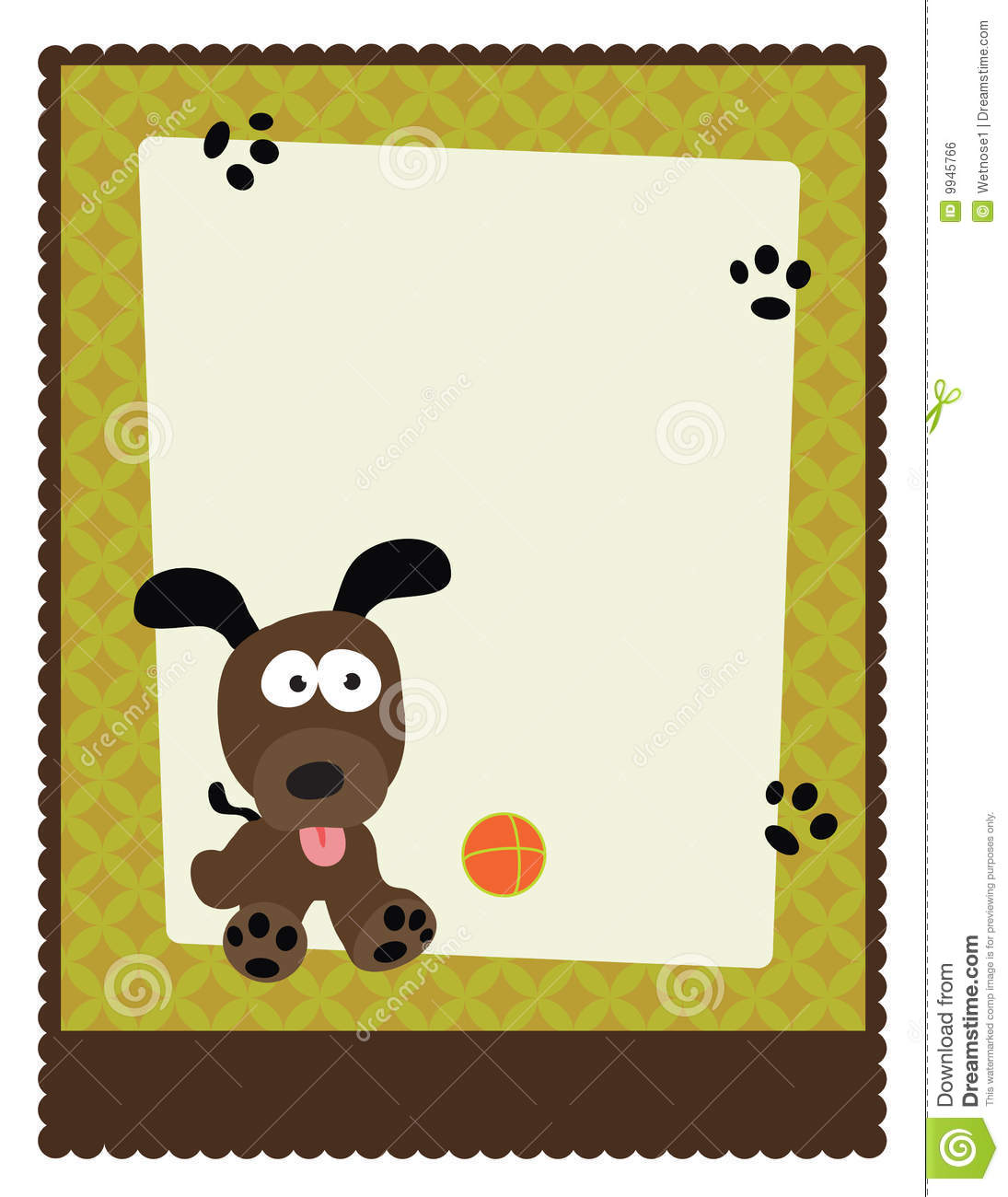 8.5x11 Flyer/Poster Template Stock Vector.