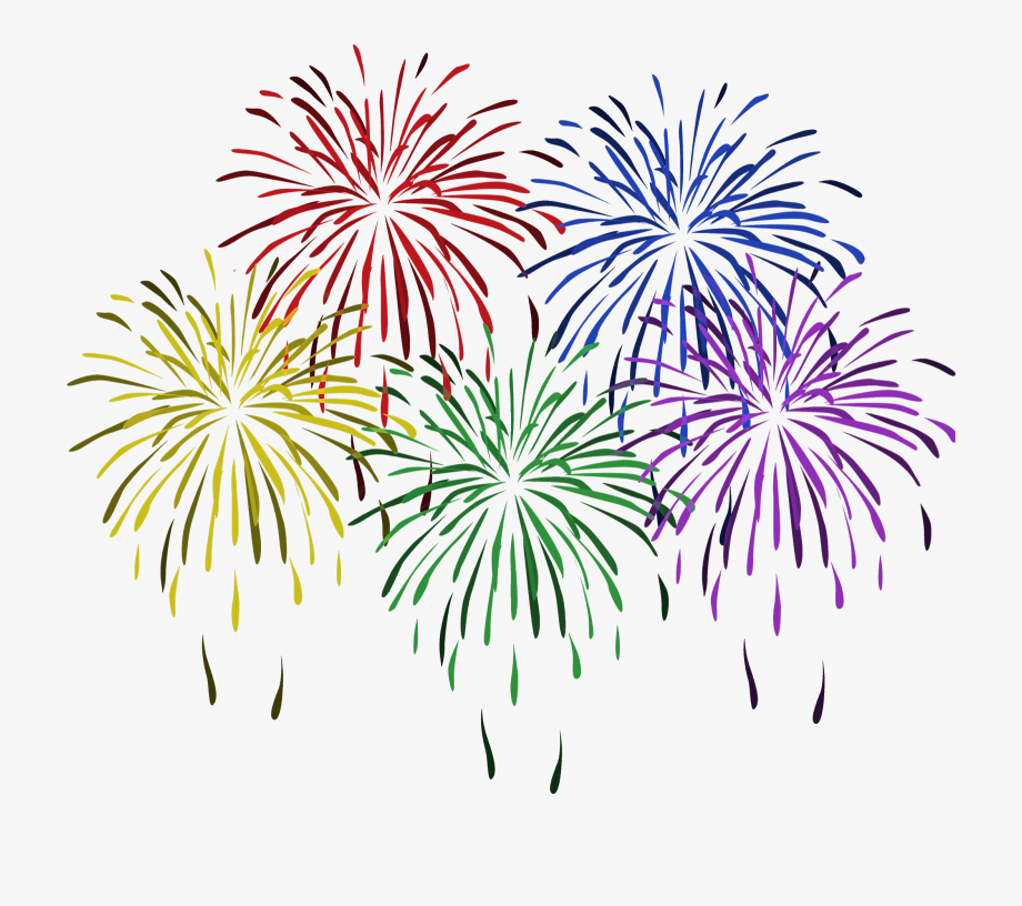 Free Clip Art Of New Year Fireworks Clipart 8 Happy.
