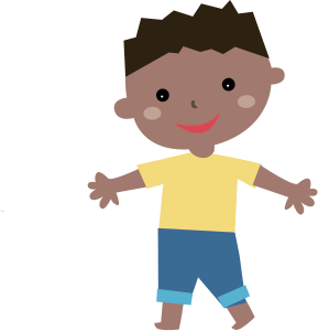 8 Year Old Boy Clipart.