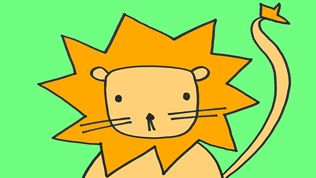 Watch Illustration for Kids: How to Draw a Lion Step.