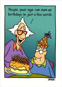 Details about Sum Up Birthdays 80th Funny Birthday Card.