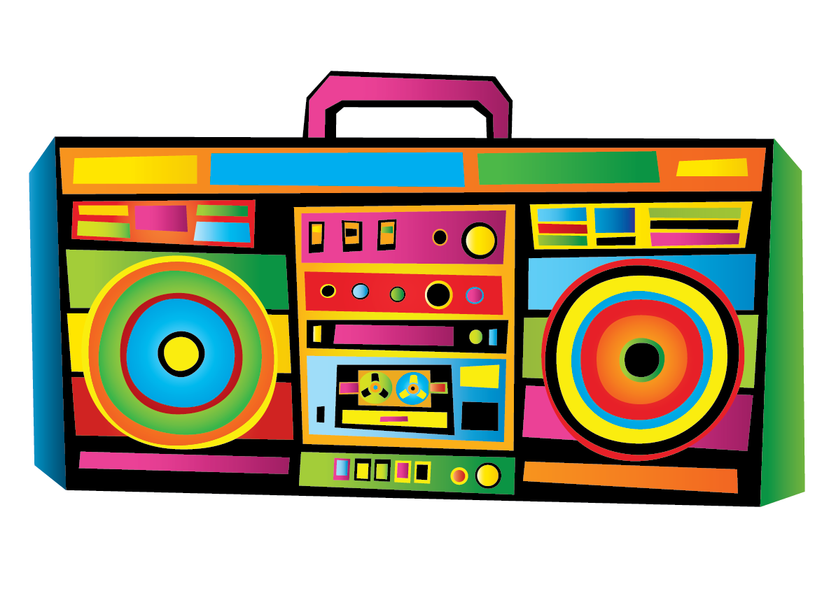 Boom Box Clipart at GetDrawings.com.