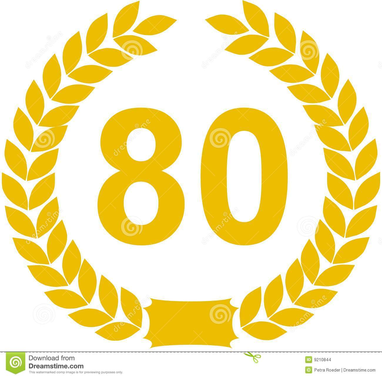 80 Cliparts Numbers.