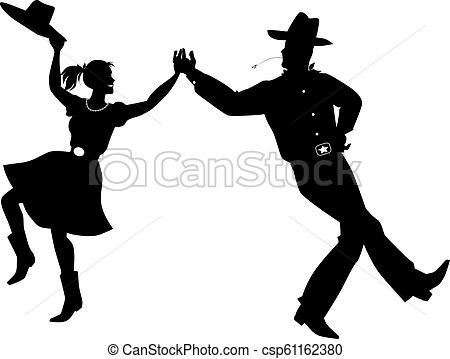 Western dancing clip.