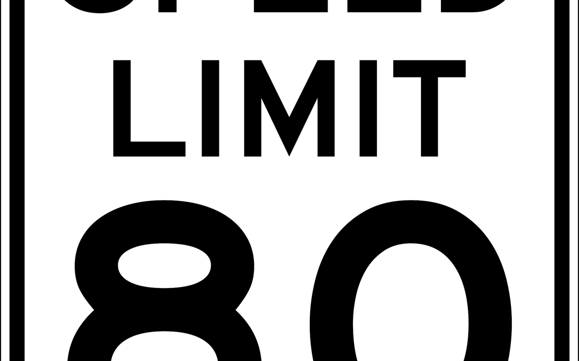 Speed limit increasing to 80 mph Wednesday in South Dakota.