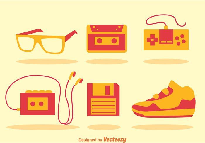 80s Retro Icons.