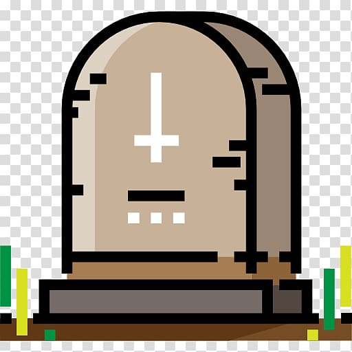 Cemetery Pixel Icon, cemetery transparent background PNG.
