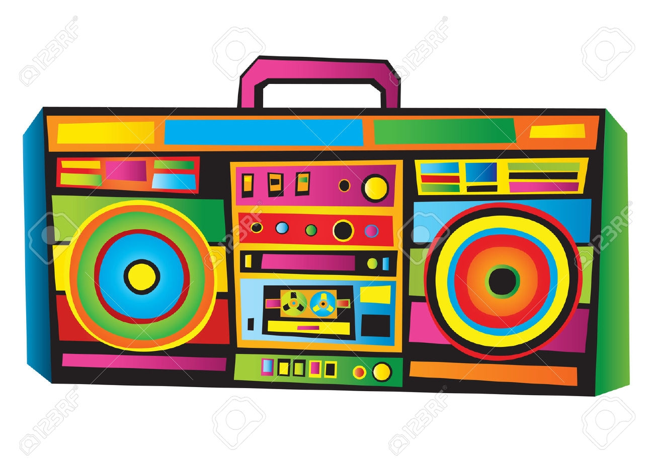 80\'s clipart boombox, Picture #211232 80\'s clipart boombox.