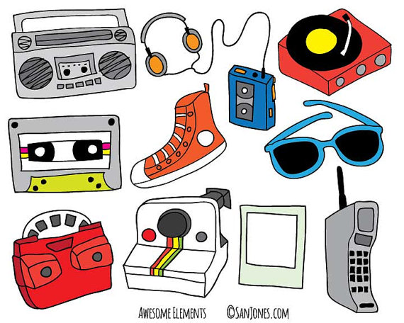 80\'s clipart 80 phone, 80\'s 80 phone Transparent FREE for.