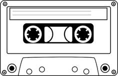 80\'s clipart casette tape, 80\'s casette tape Transparent.