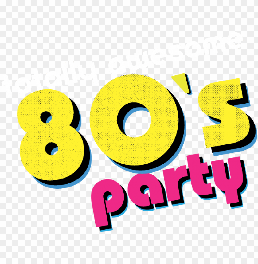 Download 80s party clipart png.