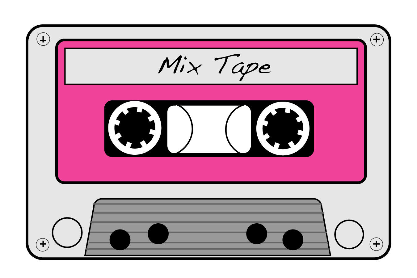 80\'s clipart mix tape, Picture #29750 80\'s clipart mix tape.