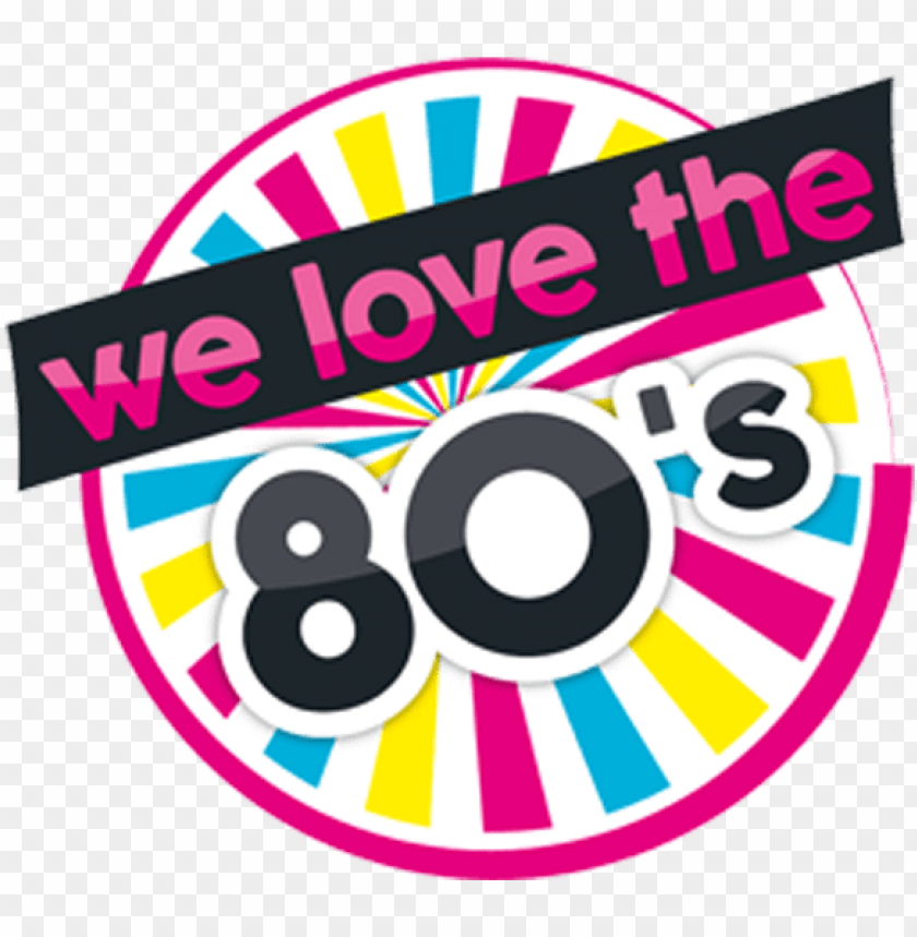 we love the 80\'s PNG image with transparent background.