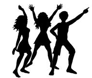 80s Dance Clipart.