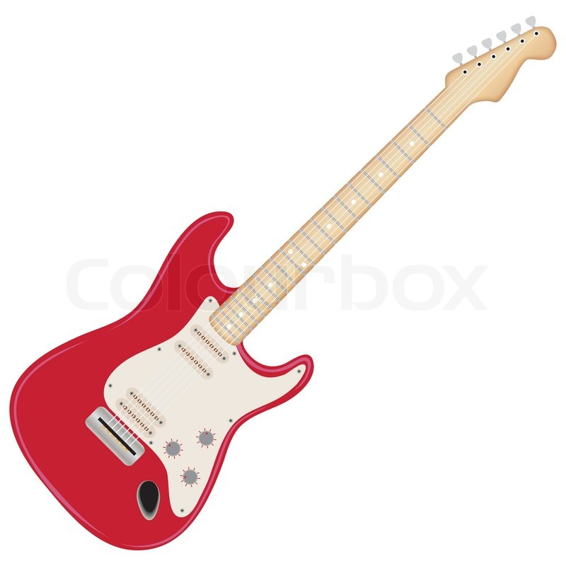 907 Electric Guitar free clipart.
