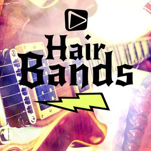 A Spotify playlist full of hot tracks from 80\'s hair bands.