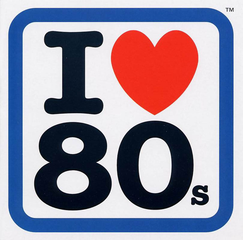 I Love The 80s Clipart.