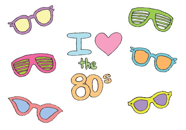 Free 80s Sunglasses Vector Series Free Vector Download.