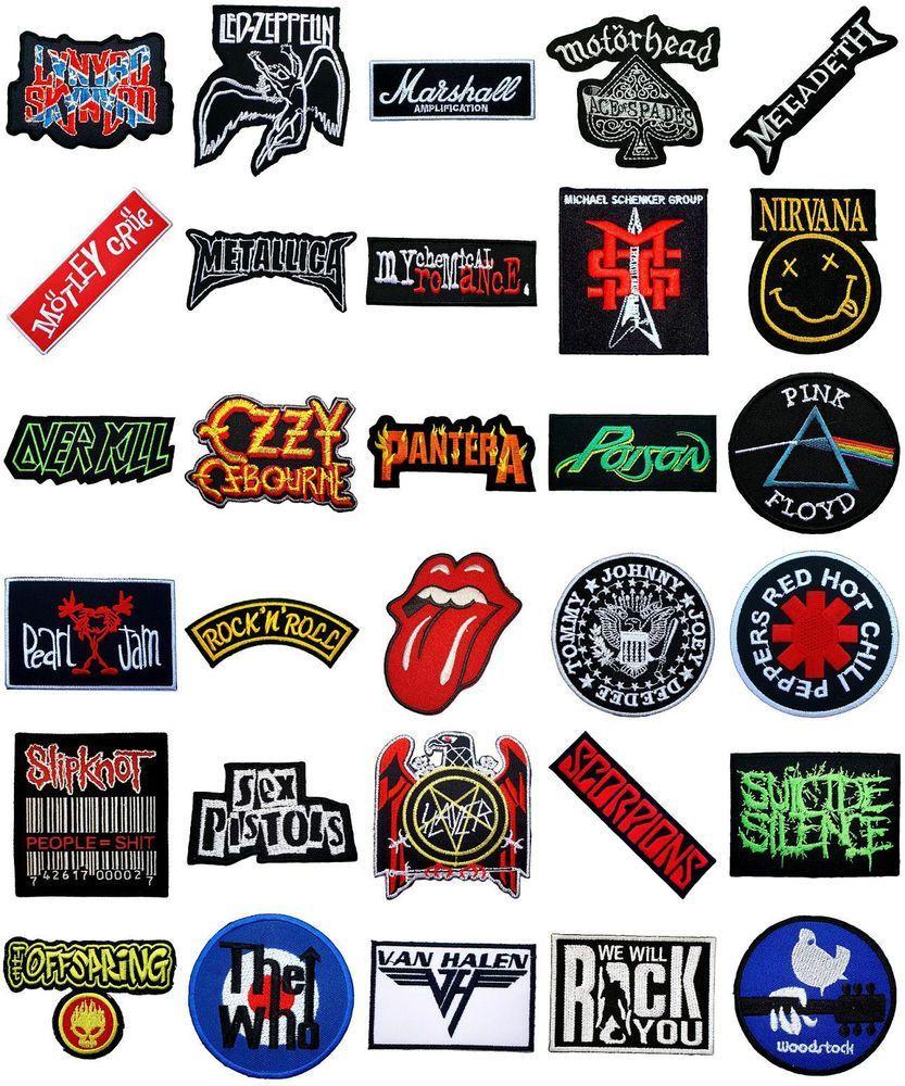 80s Rock Band Logo.